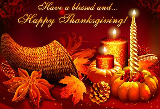 Happy Thanksgiving Day Wishes Cards
