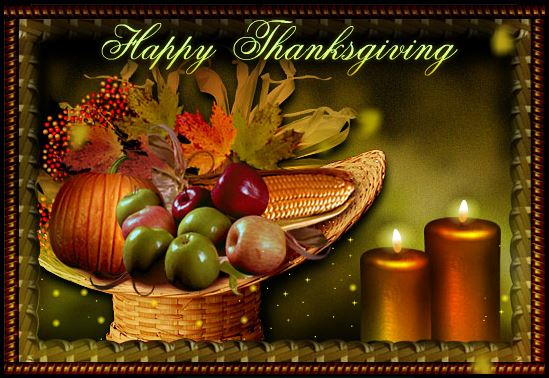 Happy Thanksgiving Day Wishes Greeting Cards & Free Ecard