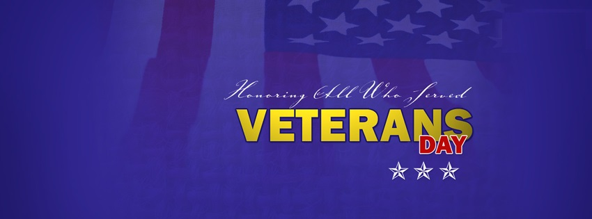 Happy Veterans Day Banners For Google+