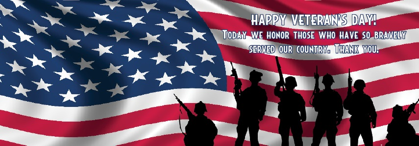 Happy Veterans Day Banners