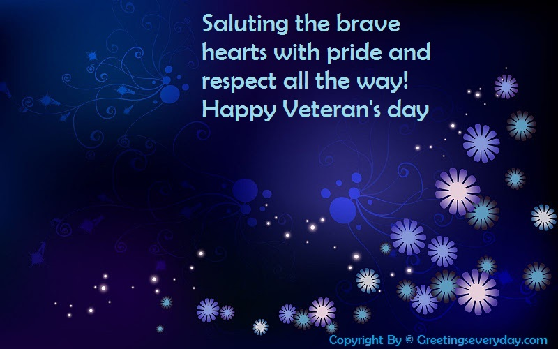 Happy Veteran's Day Messages & SMS For WhatsApp & Facebook