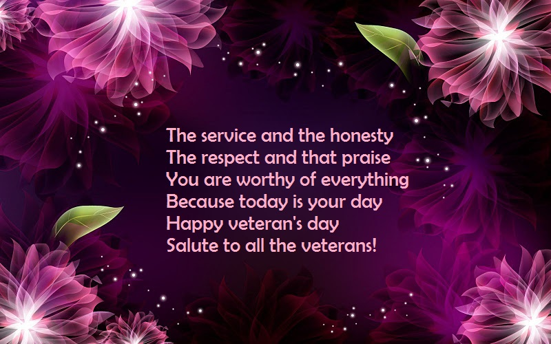 Happy Veteran's Day Wishes Messages & SMS