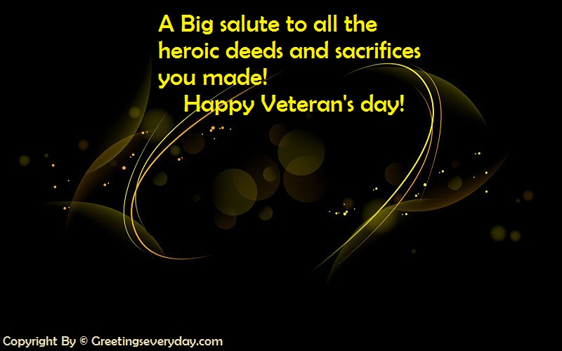 Veteran's Day SMS For WhatsApp