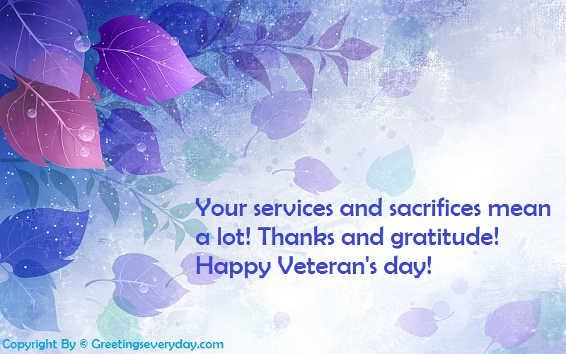 Veterans Day 2016 WhatsApp & Facebook Status