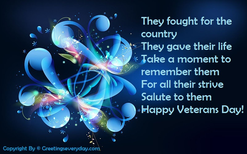 Facebook Status For Veterans Day 2016