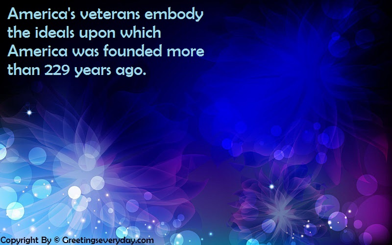 veterans day words of thanks