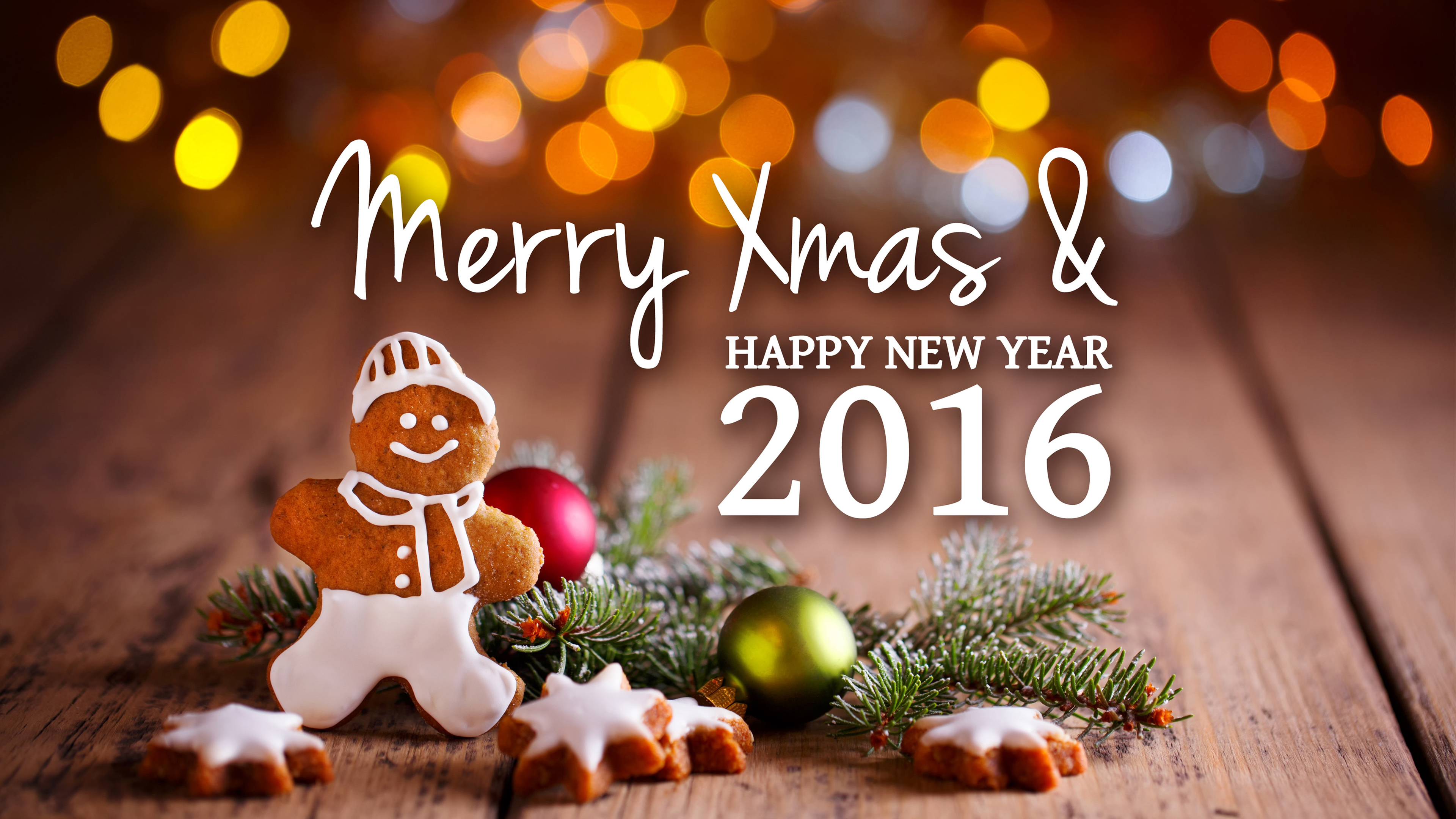 Merry Christmas & Happy New Year HD Wallpapers