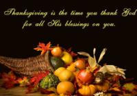 "Thanksgiving Day ""Thank You"" Greeting Card & Images"
