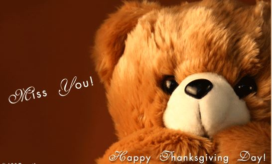 Thanksgiving Day Miss You Picture