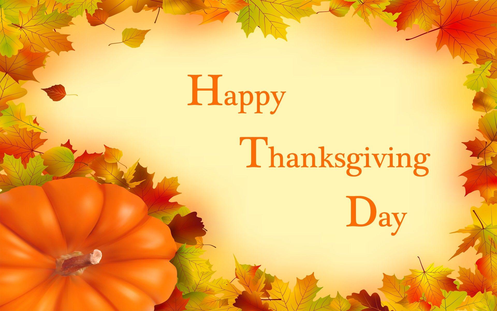 Happy Thanksgiving Day Wallpaper