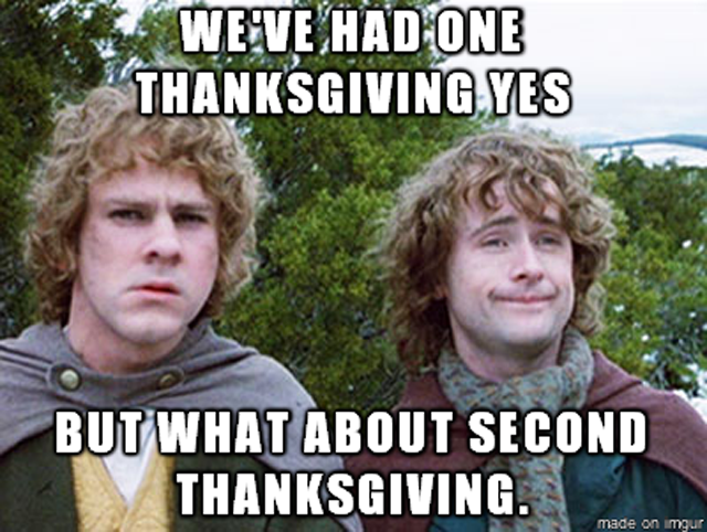 Thanksgiving Funny Meme