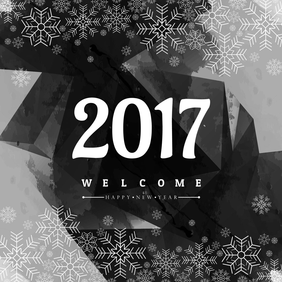 Beautiful Happy New Year 2017 HD Wallpapers