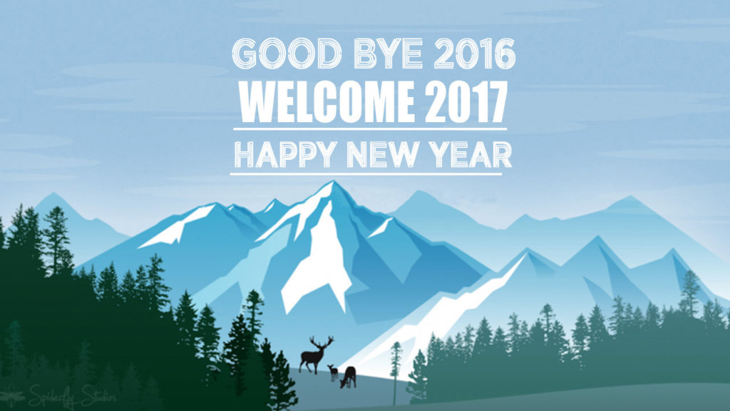 GoodBye 2016 Welcome 2017 Image