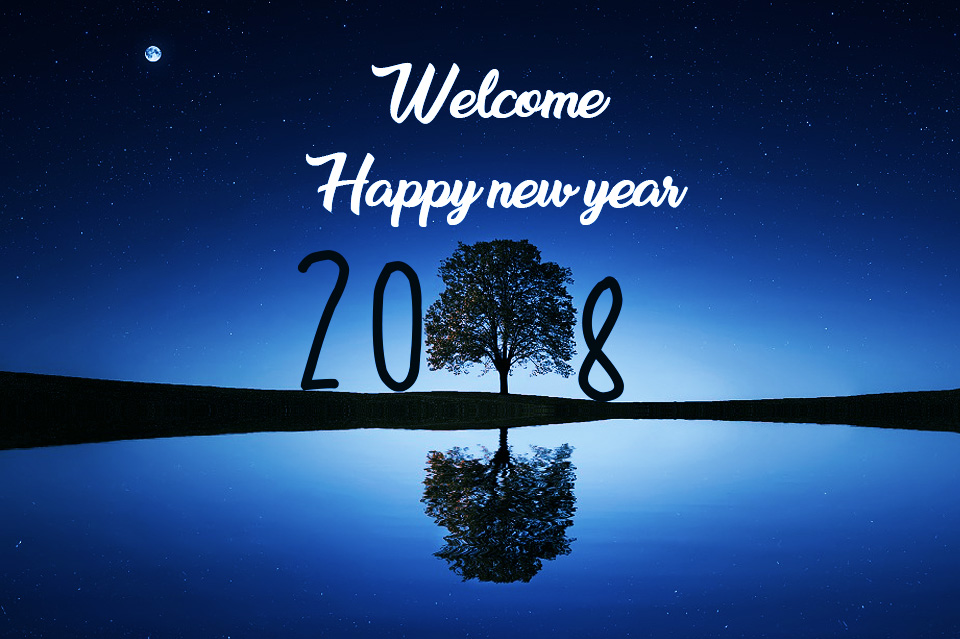 GoodBye 2017 Welcome 2018 SMS