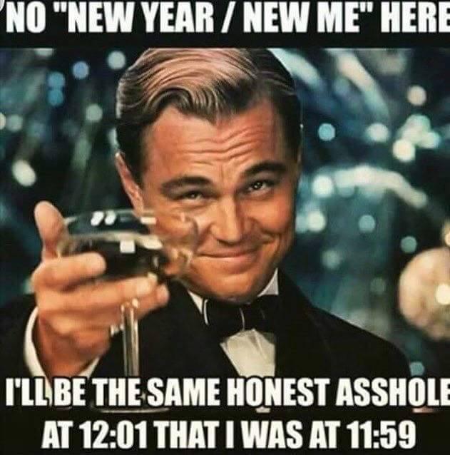 Happu New Year 2018 Funny MEME