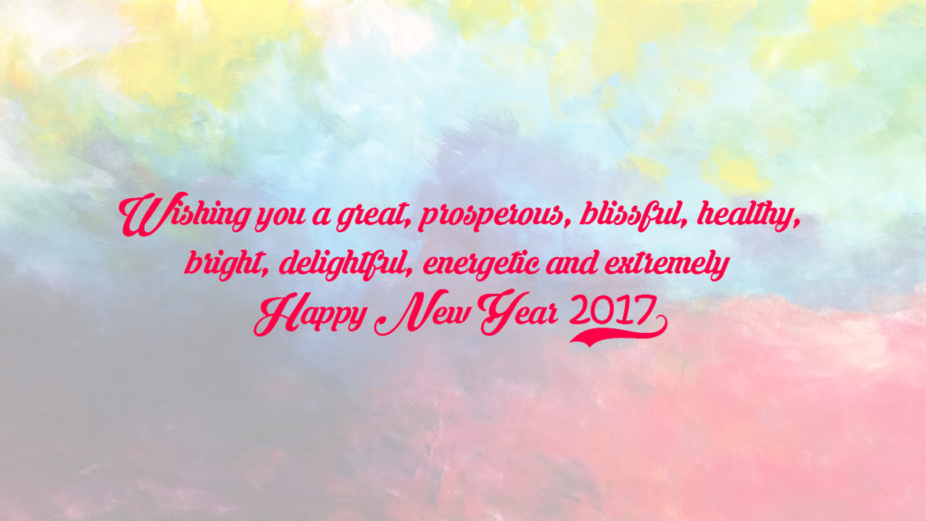 Happy New Year 2017 HD Wallpaper for WhatsApp