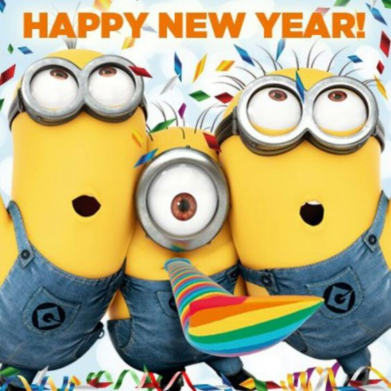 Happy New Year 2018 Minion Troll