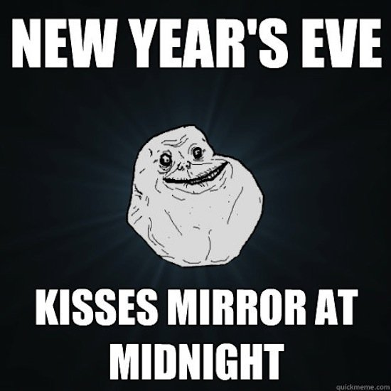 Happy New Year 2018 midnight MEME