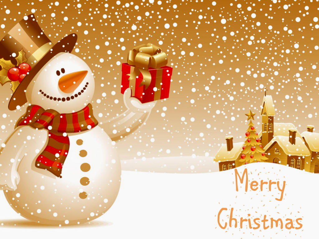Merry Christmas Free Ecard Download