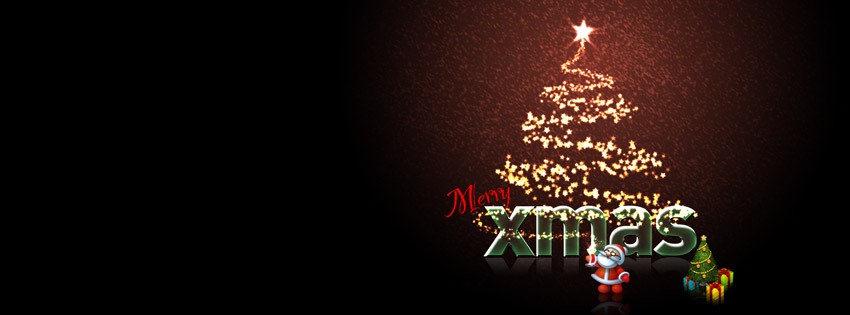 Merry Xmas Facebook Cover Picture