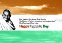 26 January Republic Day 2017 Whatsapp & Facebook Status & Dp