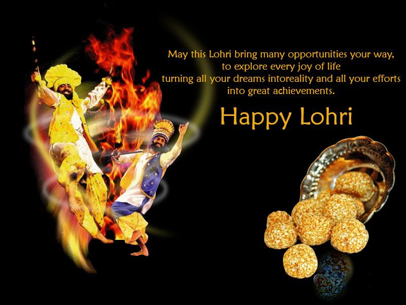 Best Happy Lohri Festival 2018 WhatsApp Dp
