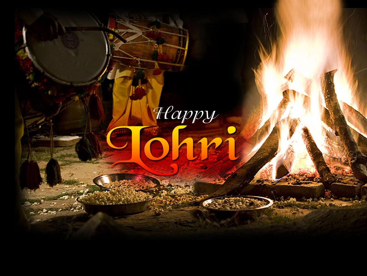 Happy Lohri WhatsApp Dp & Facebook Profile Picture