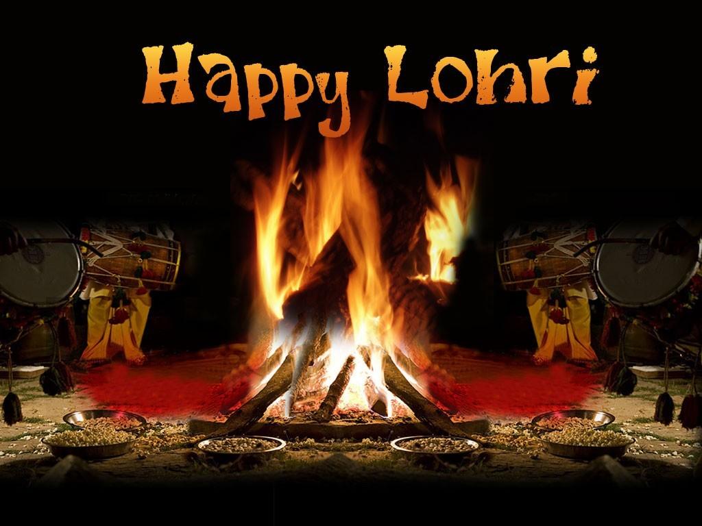 Happy Lohri WhatsApp Dp