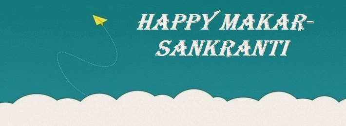 Happy Makar Sankranti Facebook Cover Photo