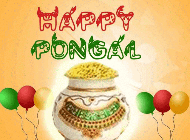 Happy Pongal 2018 HD Image