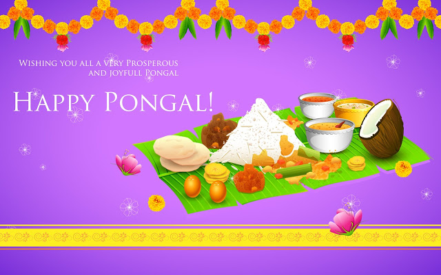 Happy Pongal 2018 Wallpaper Free Download