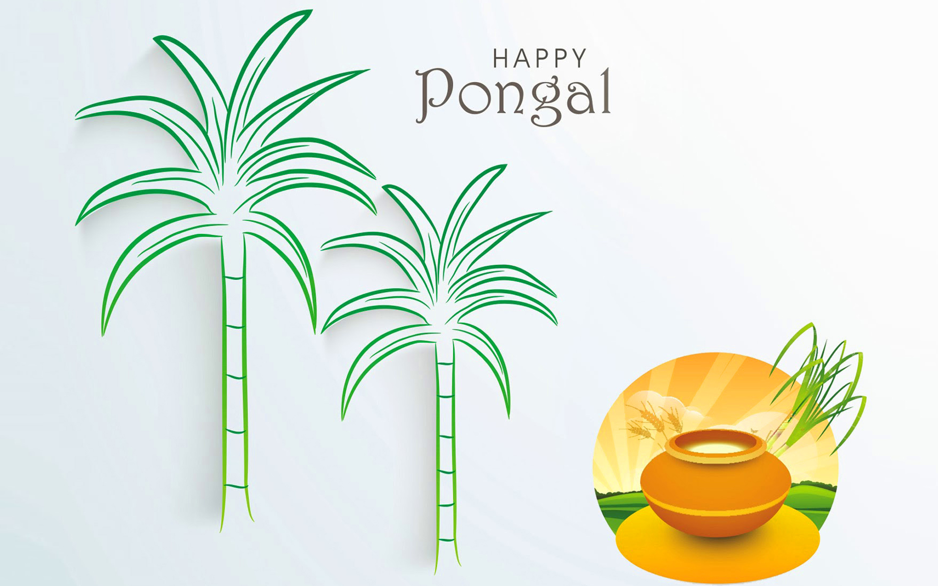 Happy Pongal HD Picture Free Download