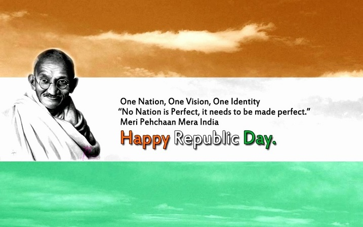 Happy Republic Day 2018 Greeting Card