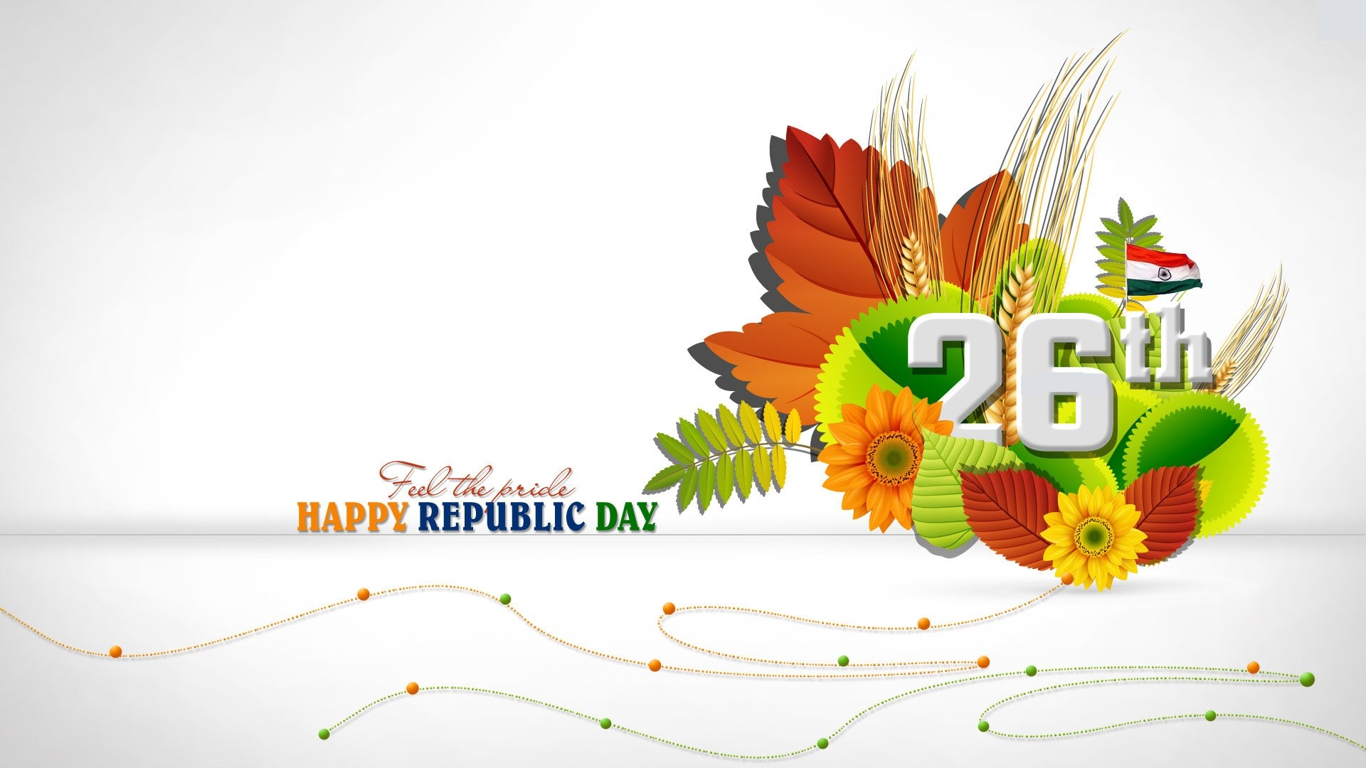 Happy Republic Day 2018 HD Wallpaper & Images