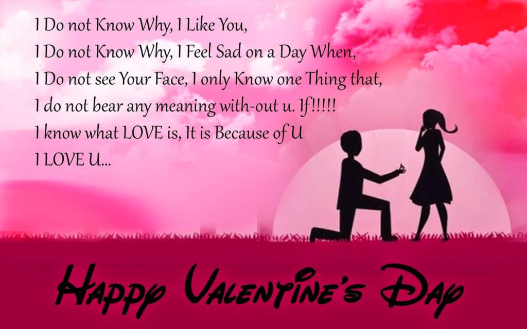 Happy Valentine Day 2018 Picture For Girlfriend