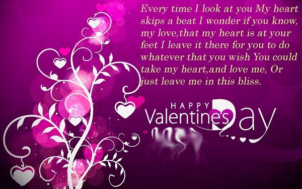 Happy Valentines Day 2017 Wishes, Messages U0026 SMS For GF / BF