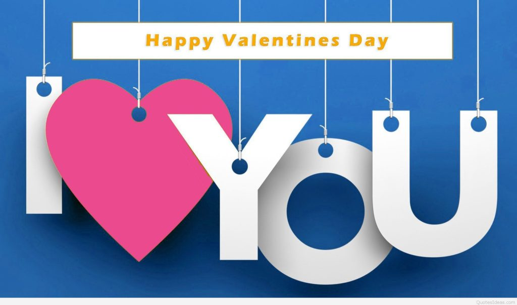 I Love You Happy Valentine Day 2017 Picture For Wife & Husband