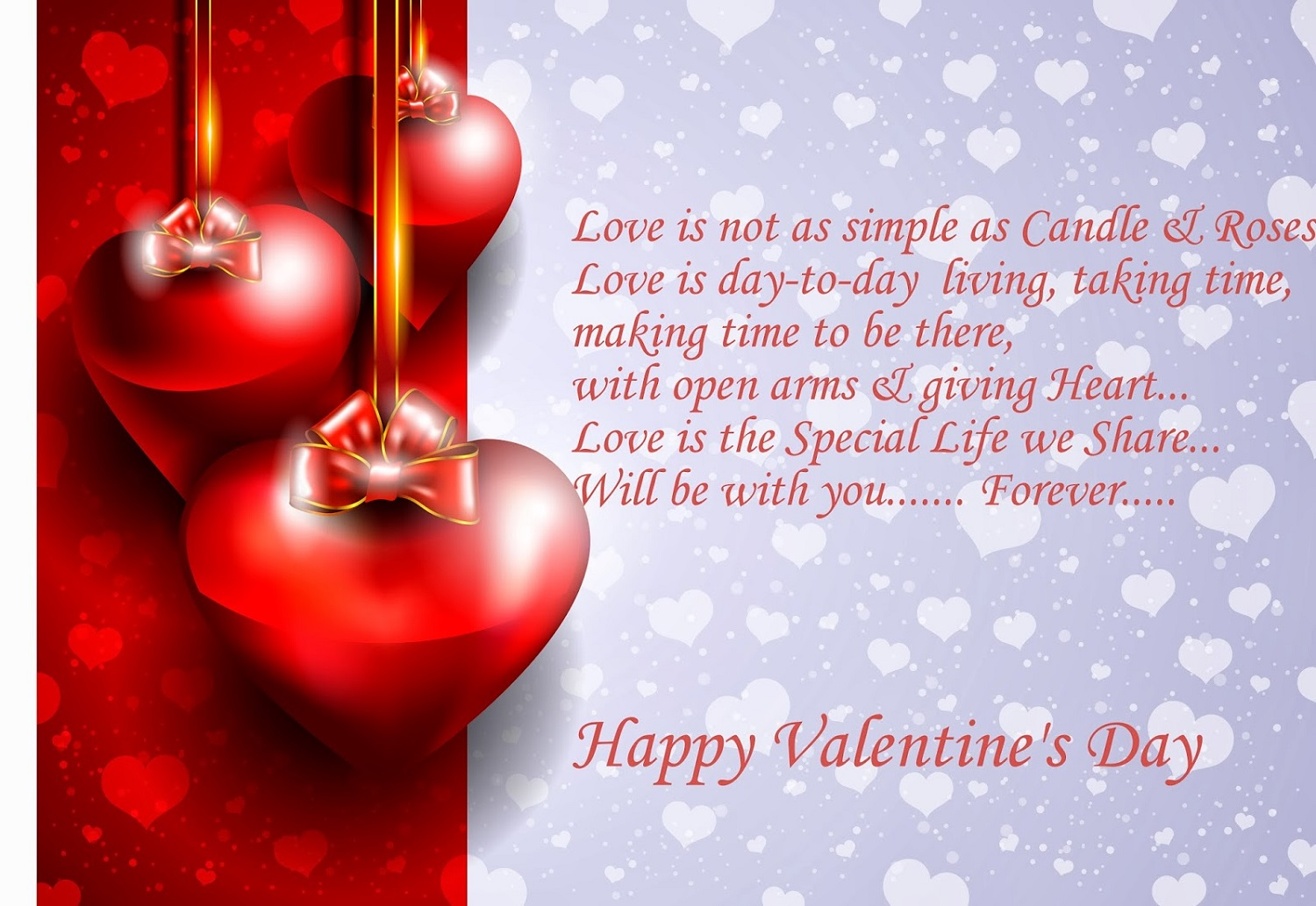 Valentine Day 2017 Image With Poem