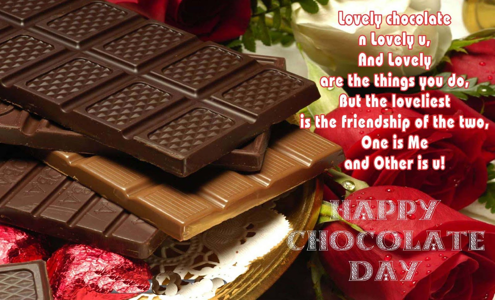 Chocolate Day 2017 Image For Fiance & Friends