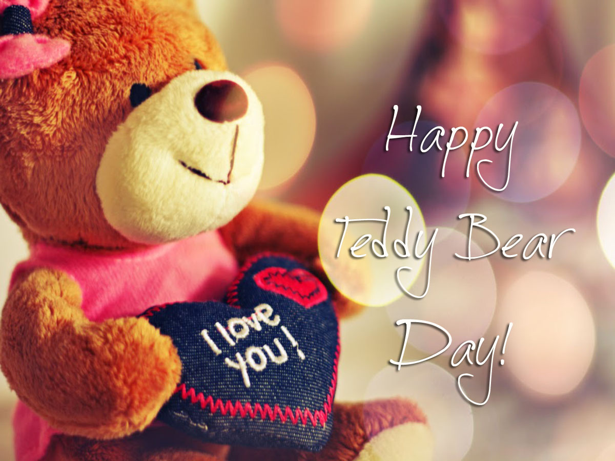 Cute Teddy Bear Day 2018 Image