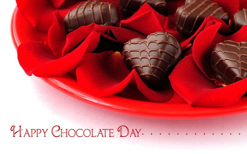 Happy Chocolate Day 2018 Image For Wife & Husband