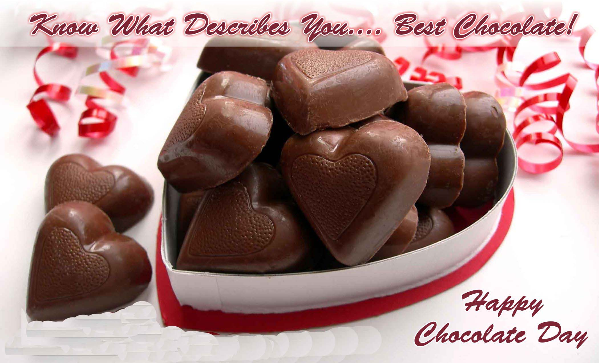 Happy Chocolate Day 2017 Image with Wishes