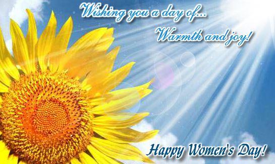 Happy International Women's Day 2018 Inspirational Card