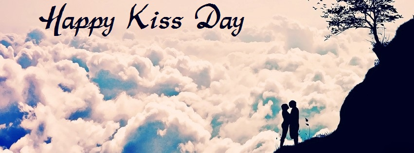Happy Kiss Day 2017 Facebook Cover Photos