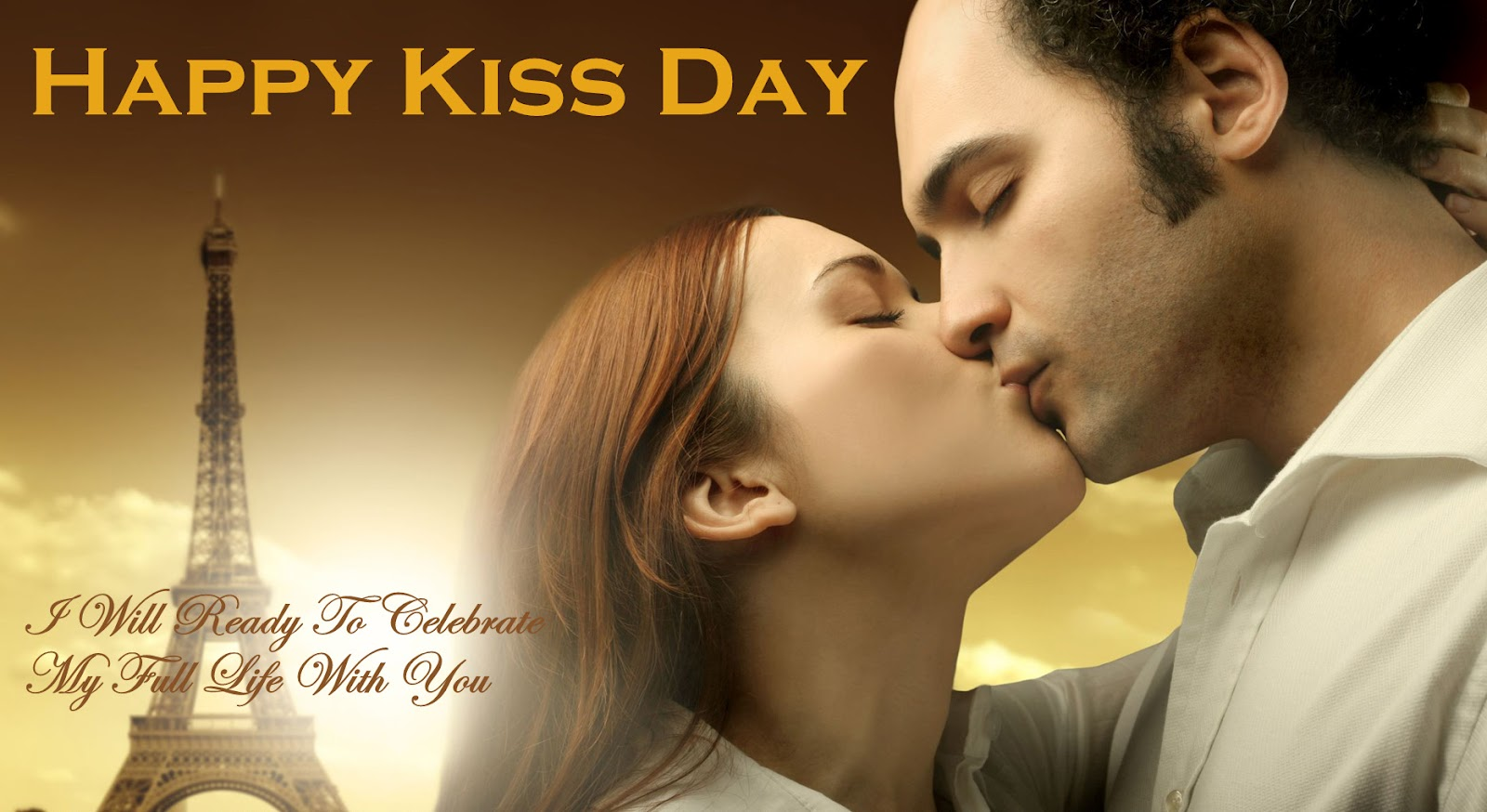 Happy Kiss Day 2018 HD Image For Girlfriend & Boyfriend