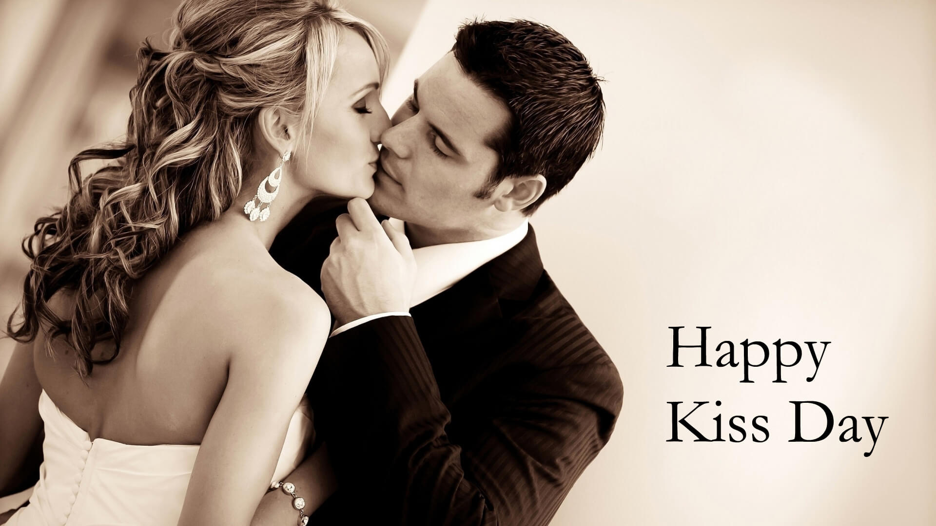 Happy Kiss Day 2018 HD Wallpaper