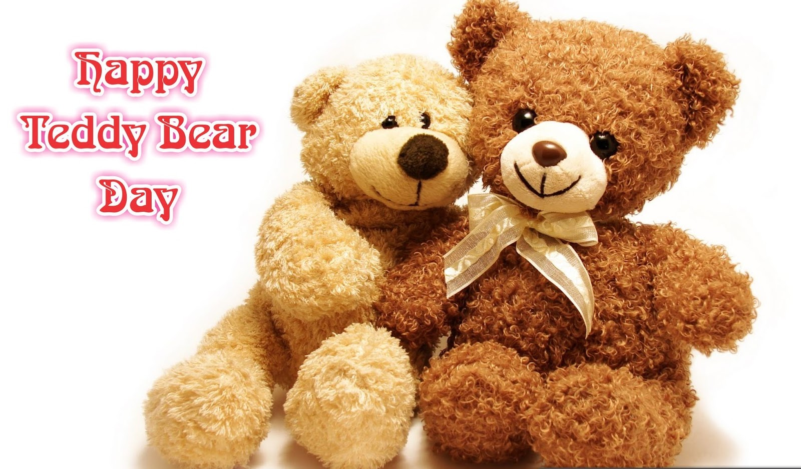 Happy Teddy Bear Day 2018 HD Image Free Download