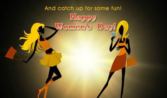 Happy Women's Day 2018 Funny Ecard