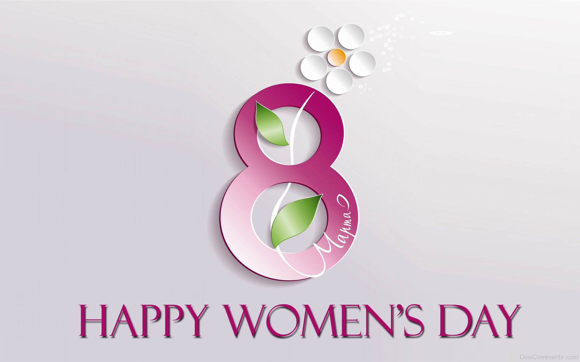 Happy Women's Day 2017 HD Image free download