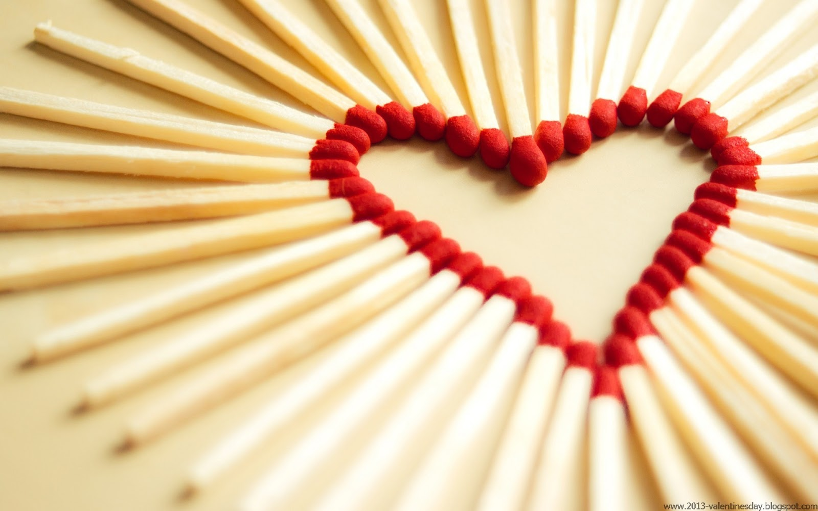 Matchstick Love Image For Valentines Day 2017